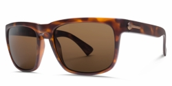 Electric Knoxville Sunglasses<BR>Matte Tort/OHM Bronze Polarized