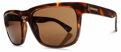Electric Knoxville Sunglasses<BR>Tortoise Shell/Melanin Bronze