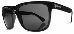 Electric Knoxville XL Sunglasses<br>Gloss Black/Melanin Grey Polarized<br>Level I