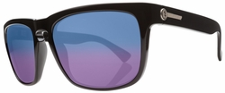 Electric Knoxville XL Sunglasses<br>Gloss Black/Melanin Blue Polarized<br>Level II