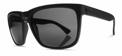 Electric Knoxville XL Sunglasses<br>Matte Black/Melanin Grey