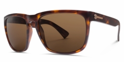 Electric Knoxville XL Sunglasses<br>Matte Tort/OHM Bronze Polarized