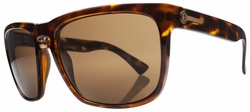 Electric Knoxville XL Sunglasses<br>Tortoise Shell/Melanin Bronze Polarized<br>Level I