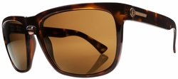 Electric Knoxville XL Sunglasses<br>Tortoise Shell/Melanin Bronze Polarized<br>Level II
