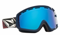 (Sale!!!) Electric Visual EGB2 Snow Goggles<br>V.Co-Lab/Bronze-Blue Chrome<br>+ Yellow Lens