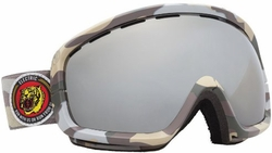 (Sale!!!) Electric Visual EGB2s Snow Goggles<br>Snow Camo/Bronze Silver Chrome
