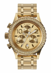 Nixon 38-20 Chrono Watch<br>All Gold/Crystal