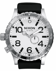 (Sale!!!) Nixon 51-30 PU Watch<br>White