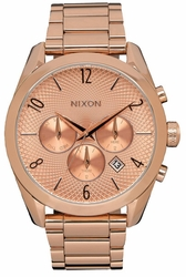 (Sale!!!) Nixon Bullet Chrono Watch<br>All Rose Gold