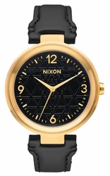 Nixon Chameleon Leather Watch<br>Ladies