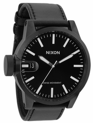 (Sale!!!) Nixon Chronicle Watch <BR>All Black