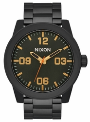 Nixon Corporal SS Watch<br>All Black/Surplus
