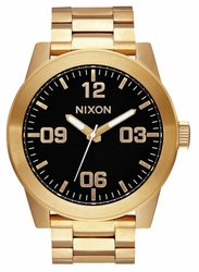 Nixon Corporal SS Watch<br>All Gold/Black