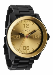 Nixon Corporal SS Watch<br>Black/Gold