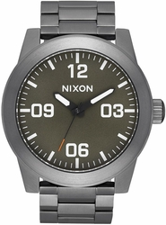 Nixon Corporal SS Watch<br>All Gunmetal/Slate/Orange