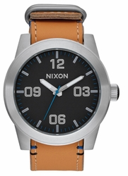 (Sale!!!) Nixon Corporal Watch<br>Black/Natural