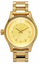 Nixon Facet 38 Watch<br>All Gold