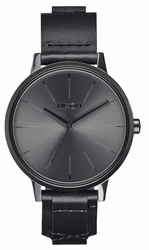 (Sale!!!) Nixon Kensington Leather Watch<br>Black/Bridle