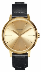 (Sale!!!) Nixon Kensington Leather Watch<br>Gold/Bridle