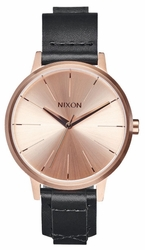 (Sale!!!) Nixon Kensington Leather Watch<br>Rose Gold/Bridle
