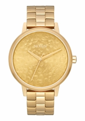 Nixon Kensington Watch<br>Gold/Hammered