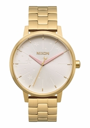 Nixon Kensington Watch<br>Gold/Soft pink/LH
