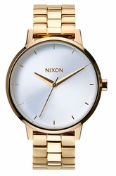 Nixon Kensington Watch<br>Gold/White
