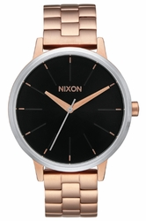 (Sale!!!) Nixon Kensington Watch<br>Rose Gold/Black Sunray
