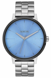 (Sale!!!) Nixon Kensington Watch<br>Silver/Sky/Gunmetal