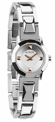(SALE!!!) Nixon Mini B SS Watch<br>Silver