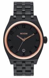 (Sale!!!) Nixon Monopoly Watch<br>All Black/Rose Gold