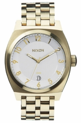 (Sale!!!) Nixon Monopoly Watch<br>Light Gold/Silver