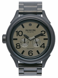 (Sale!!!) Nixon October Tide Watch<br>Matte Black/Matte Gunmetal
