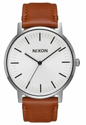 Nixon Porter Leather Watch<br>Unisex