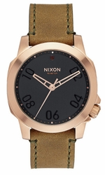 Nixon Ranger 40 Leather Watch<br>Unisex