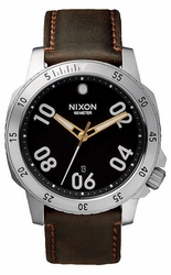 Nixon Ranger Leather Watch<br>Men's