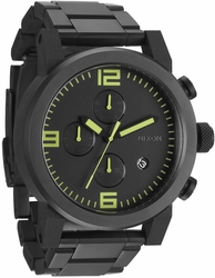 (Sale!!!) Nixon Ride SS Watch<br>All Black/Lum