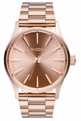 Nixon Sentry 38 SS Watch<br>All Rose Gold