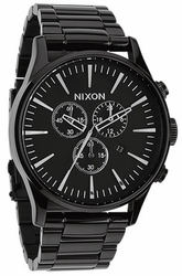 Nixon Sentry Chrono Watch<br>All Black