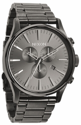 Nixon Sentry Chrono Watch<br>All Gunmetal