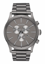 Nixon Sentry Chrono Watch<br>All Gunmetal/Gray