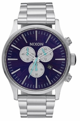 (Sale!!!) Nixon Sentry Chrono Watch<br>Purple