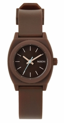 (Sale!!!) Nixon Small Time Teller P Watch<br>Brown
