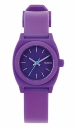 Nixon Small Time Teller P Watch<br>Purple