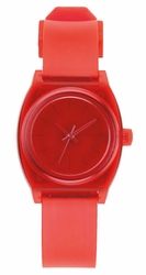 (Sale!!!) Nixon Small Time Teller P Watch<br>Translucent Coral