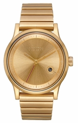 Nixon Station Watch<br>All Gold