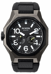 (Sale!!!) Nixon Tangent Sport Watch<br>Gunmetal/Black