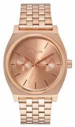 Nixon Time Teller Deluxe Watch<br>All Rose Gold