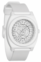 (Sale!!!) Nixon Time Teller P Watch<br>All White Shadow