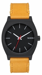 Nixon Time Teller Watch<br>All Black/Goldenrod